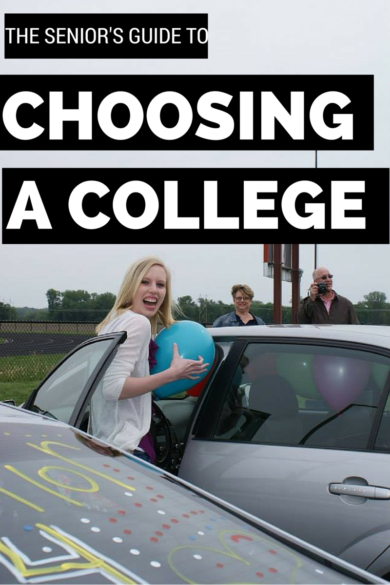 Seniors guide to choosing a college