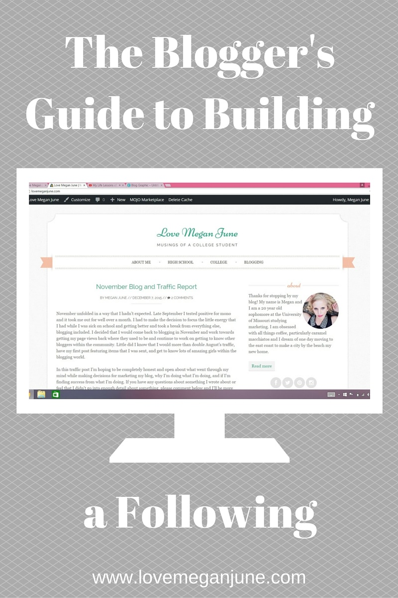 The Blogger's Guide to Building a Following