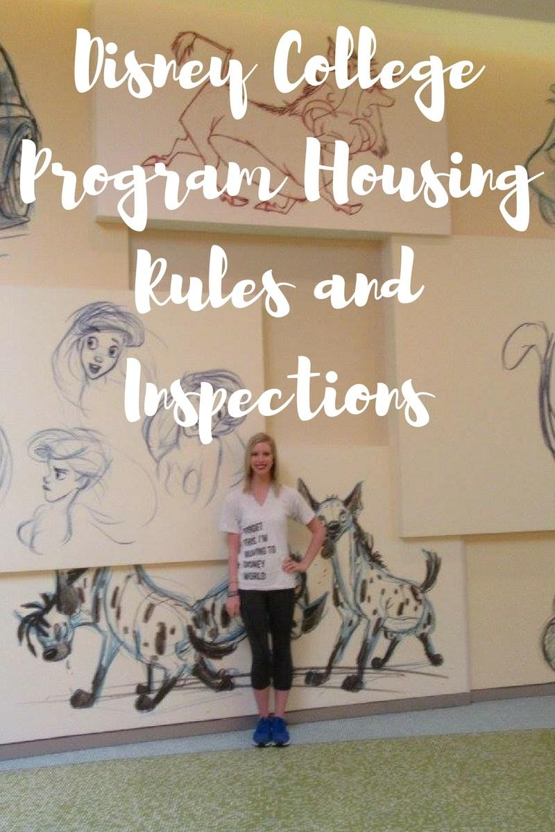 Disney College Program Housing Rules And Inspections Love Megan June